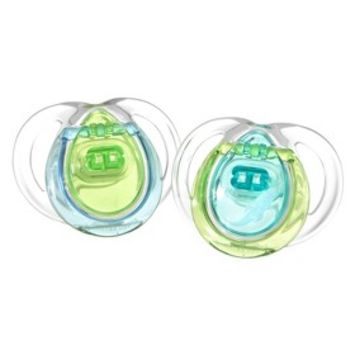 Tommee Tippee Closer To Nature Boy Pacifier (2pk) - 0-3M