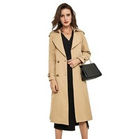 Double Breasted Women Trench Coat