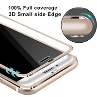 Clear Front Screen Protector for iPhone 7 7 Plus Tempered Glass Full Cover 3D Curved Edge Titanium Protective Film Full Coverage