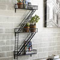 Fire Escape Shelf Unit