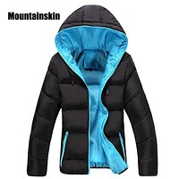 New Men Winter Casual Hooded And Thick Padded Jacket