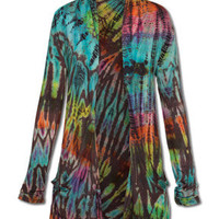 NEW! Colorful Colors Tie-Dye Shrug: Soul-Flower Online Store