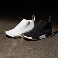 Best Online Sale Adidas NMD Mid City Sock Black / White Boost Sport Running Shoes Classic Casual Shoes Sneakers