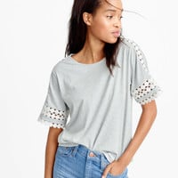 Embroidered top