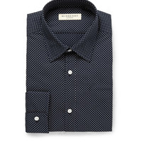 Burberry London - Navy Printed Cotton Shirt | MR PORTER