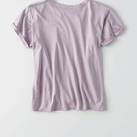 AEO Classic Cotton T-Shirt, Lively Lilac