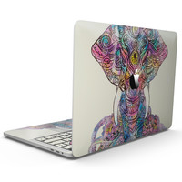 Zendoodle Sacred Elephant - MacBook Pro with Touch Bar Skin Kit