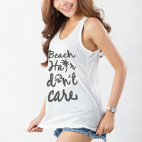 Funny Workout Racerback Tank Sayings on Shirt Clothes for Teen Girl