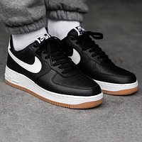 Nike Air Force 1 AF1 Fashionable Men Casual Sport Shoes Sneakers Black