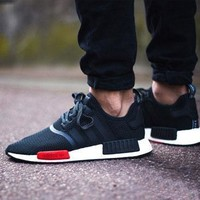 Sale Footlocker x Adidas NMD R1 AQ4498 Boost Sport Running Shoes Classic Casual Shoes Sneakers