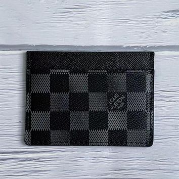 LV Louis Vuitton New Product Printed Letter Card Case Key Bag #5