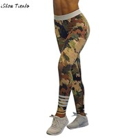 Women's Camouflage Leggings Plus Size Available