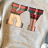 Gray & Plaid KY Sweatshirt