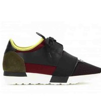 BaLenciaga Race Runners Stylish Women Men Casual Sport Sneaker Shoes I