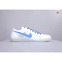 NIKE Blazer Low Fashion New Hook Print Women Men Sports Leisure Shoes 3#
