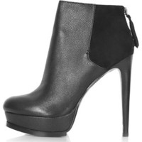 ATTENTION Ankle Boots - Black