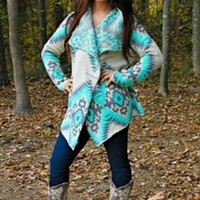 Love You This Big Cardigan - Mint