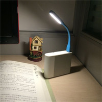 FFFAS Mini Flexible USB Led USB Light Table Lamp Gadgets usb hand lamp For Power bank PC laptop notebook Android phone OTG cable