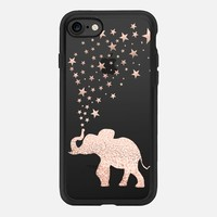 HAPPY ELEPHANT ROSÈ GOLD by Monika Strigel iPhone 5 iPhone 7 Hülle by Monika Strigel | Casetify