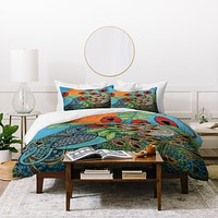 Ruby Door Night And Day 1 Duvet Cover
