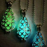 Break the Spell Glow in The Dark Locket