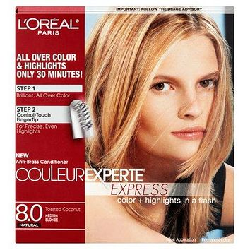 L'oreal Paris Couleur Experte Hair Color + Highlights, Medium Blonde