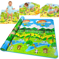 Baby Play Mat Foam Floor Child Activity Soft Kid Toy Gift Gym Crawl 2*1.8M 7_S (Color: Multicolor) = 1917058500