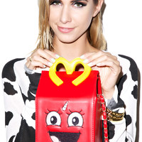 Dream Bags MCthical Unicorn Crappy Meal Bag Red One