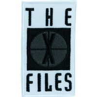 The X Files Patch Iron on Applique Alternative Clothing Fox Mulder Dana Scully