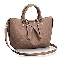 LV Authentic Louis Vuitton Mazarine PM Bag Handbag Article: M50709 Taupe Made in Franc