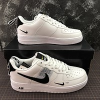 Morechoice Tuhz Nike Air Force 1 07 Lv8 Overbranding Low Sneakers Casual Skaet Shoes Aj7747-100