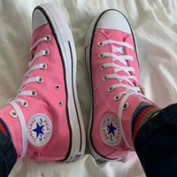 """""""Converse Chuck Taylor All Star"""" Women Casual High Help Canvas Shoes All-match Classic Cloth Shoes"""