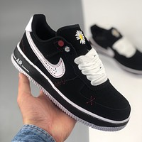 NIKE air force 1 Fashion in low - help men and women casual shoes-3