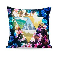 Cherry Blossom Couch Pillow