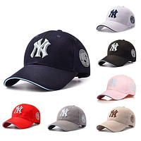 Fashion Baseball Bboy Cap Adjustable Casual Solid NY Snapback Sport Hat