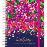 Lilly Pulitzer Large 17 Month Agenda- Wild Confetti