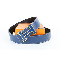 Hermes belt men's and women's casual casual style H letter fashion belt442