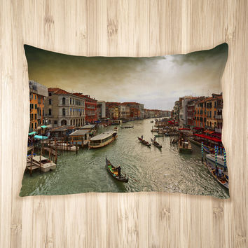 The Canals of Venice Pet Bed