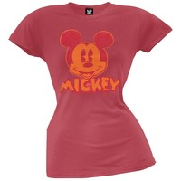 Mickey Mouse - Old School Juniors T-Shirt
