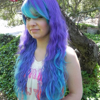20 OFF SALE Sea Anemone / Purple Blue Sea Green and by ExandOh