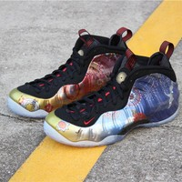 """[ Free  Shipping ]Nike Air Foamposite One""""Lunar New Year""""A07541-006  Running  Sneaker"""