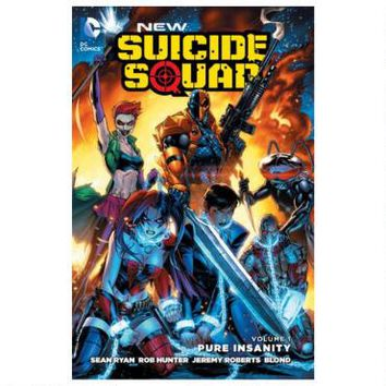 New Suicide Squad Vol. 1: Pure Insanity (The New 52) (Paperback)  