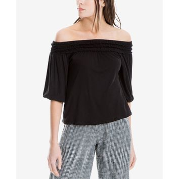 Max Studio London Jersey Off-The-Shoulder Top