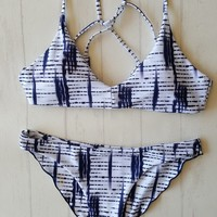 Back Strappy Bathing Suit