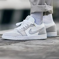 Nike Air Jordan 1 Low AJ1 Fashionable Women Men Casual Sport Running Shoes Sneakers