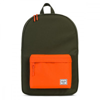 Herschel Supply Co. Green / Orange Classic Backpack