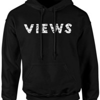 Views from the six Hoodie / Drake Hoodie / Views from the 6 - Unisex Fit - Many Colors Available -  Fast Ship