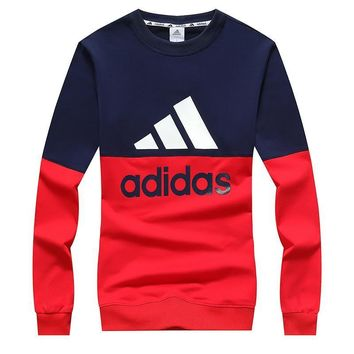 Adidas Women Men Fashion Casual Top Sweater Pullover-125