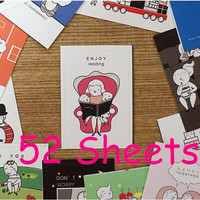 family life sticker colorful daily story sticker cartoon label sticker everyday special day happy seal sticker scrapbook deco special card
