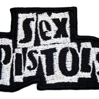 SEX PISTOLS Band t Shirt Logo MS08 Iron on Patches